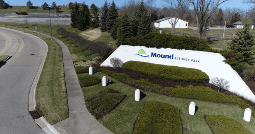 Mound Business Park Entrance